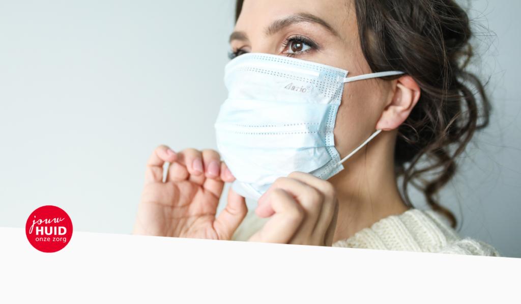 Jouw Huidtherapeut - 10 tips Zo krijg je minder last van puistjes en acne onder je mondkapje mondmasker acne voorkomen